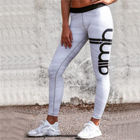 2016 Trending Fashion Sports Fitness Sportswear Stretch Exercise Yoga  Trousers Pants Leggings _ 10525