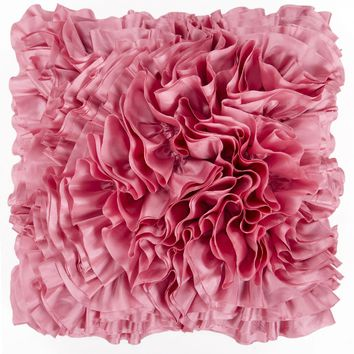 Prom Throw Pillow Pink
