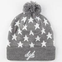 Dgk Shooter Beanie Grey One Size For Men 24564211501