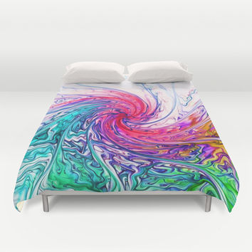 True Colours Duvet Cover by Ally Coxon | Society6