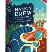 Penguin Books Nancy Drew Mystery Stories Books 1-4