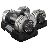 Bayou Fitness 50 lb. Adjustable Dumbbells (Pair) BF-0250