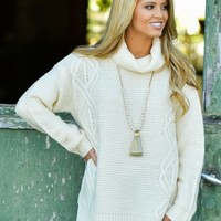 Ticket To Cozy Sweater | Monday Dress Boutique