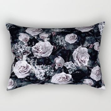 Dark Love Rectangular Pillow by RIZA PEKER
