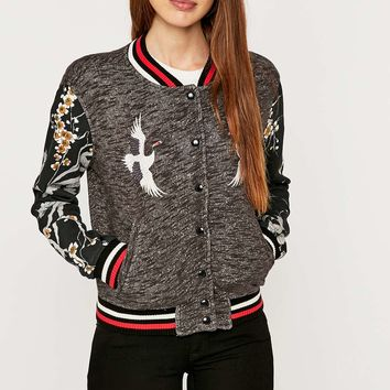 Denim & Supply Ralph Lauren Embellished Varsity Jacket - Urban Outfitters