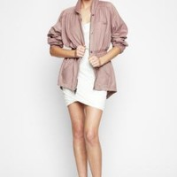 BCBGMAXAZRIA - SHOP BY CATEGORY: TOPS: VIEW ALL: BCBGENERATION CINCHED ANORAK