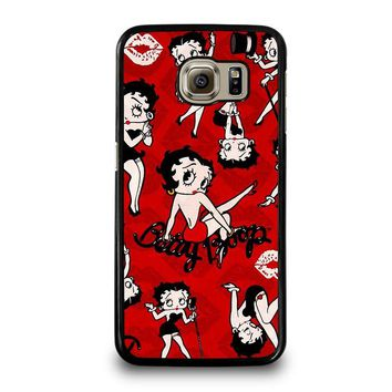 BETTY BOOP COLLAGE Samsung Galaxy S6 Case Cover