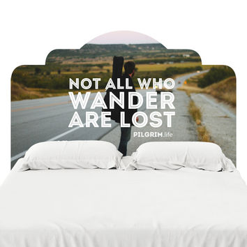 Wander Headboard Decal
