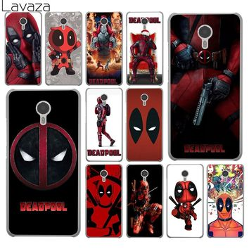 Deadpool Dead pool Taco Lavaza  Marvel Wade Winston Wilson Hard Phone Shll Case for Meizu M6S M3 M3S M5 Mini M6 Note M5S M5C Back Cover AT_70_6