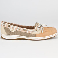 Sperry Top-Sider Angelfish Womens Boat Shoes Sand/Bretton  In Sizes