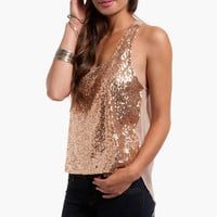 Dazzler Sequined Tank $23