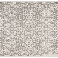 Jay Rug, Silver/Ivory, Area Rugs