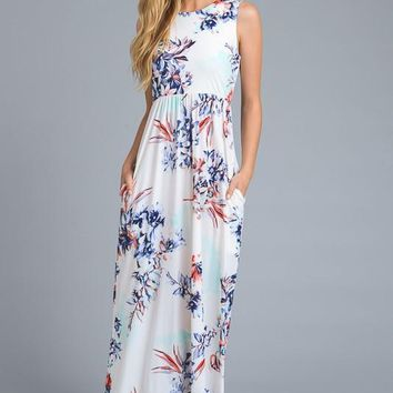 Wildcat Floral Maxi Dress