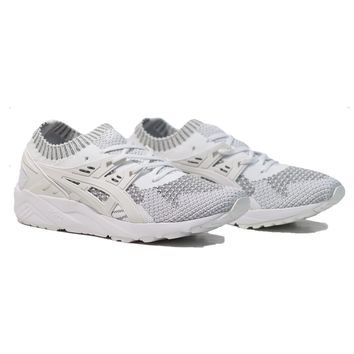 AUGUAU Asics Gel-Kayano Trainer Knit - Silver/White