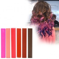 Palty Hair Dye Macaroon Beige - HairChalk Set of 6