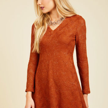 Your Next Texture Sweater Dress | Mod Retro Vintage Dresses | ModCloth.com