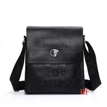 ONETOW Versace Fashionable Casual Leather Man Bag Man's Messenger Bag Shoulder Bag H-MYJSY-BB Tagre?