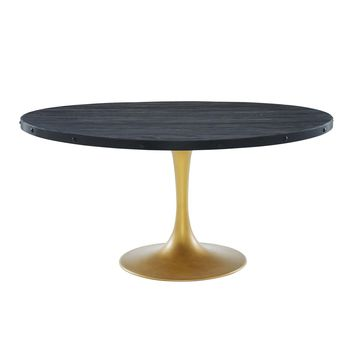 """Drive 60"""" Round Wood Top Dining Table"""
