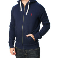 Polo Ralph Lauren Men's Lined Full Zip Hoodie