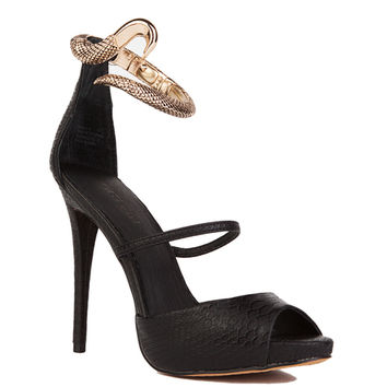 Zigi Buble Heel in Black