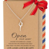 Ayla Lord of the Dance Yoga Pose Necklace