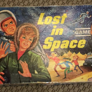 "Vintage 1965 Board Game - ""Lost in Space"" - Original Vintage Milton Bradley - from the classic Science Fiction CBS TV Television Show"