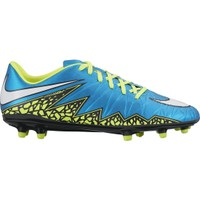 Nike Women's HyperVenom Phelon II FG Soccer Cleats - Blue/Volt | DICK'S Sporting Goods
