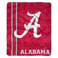 Alabama Crimson Tide Sherpa Blanket (Ala Team)