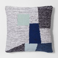 "Geo Throw Pillow (18"") - Gray/Blue - Project 62™"