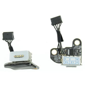 New 820-2627-A DC Power Jack Board for Apple A1342 Macbook MC516 MC207 US Stock