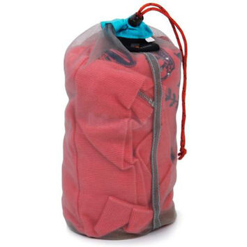 Multi Size Portable Tavel Camping Sports Ultralight Mesh Stuff Sack Drawstring Storage Bag Outdoor Camping Travel Kit Equipment