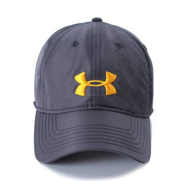 Under Armour Summer new fashion summer embroidery couple sports baseball cap Dark gray