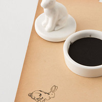 Ceramic Rabbit Stamper