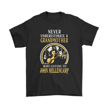 ESBV4S Never Underestimate A Grandmother Listens To Jone Mellencamp Shirts