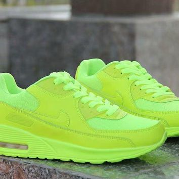"""Nike Air Max"" Unisex Casual Fashion Multicolor Small Air Cushion Sneakers Couple Running Shoes"