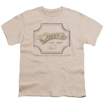 Cheers - Sign Short Sleeve Youth 18/1