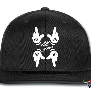 all yours hands Snapback