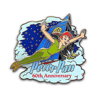 Peter Pan 60th Anniversary Pin - Collections By Disney
