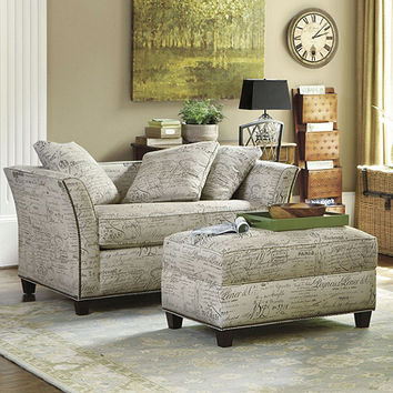 Tate Twin Sleeper with Storage Ottoman | Ballard Designs