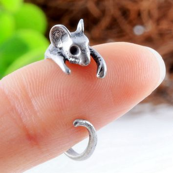 Cute Mouse Animal Ring