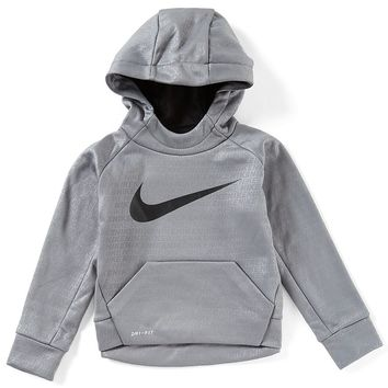 Nike Little Boys 2T-7 Therma-FIT Printed Fleece Hoodie | Dillards