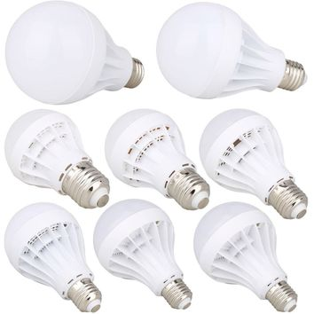 Energy Saving E27 LED Bulb Light 3W 5W 7W 9W 15W 18W Globe Lamp 110V