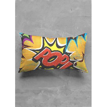 COMIC POP ART BED PILLOWS