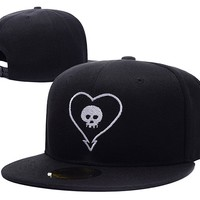 Alkaline Trio Band Logo Adjustable Snapback Caps Embroidery Hats