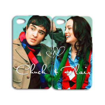 Blair Waldorf Phone Case Chuck Bass iPhone Case Cute Couple iPod Case Hot Funny Heart Cover iPhone 4 iPhone 4s iPhone 5 iPhone 5s iPod 4 & 5