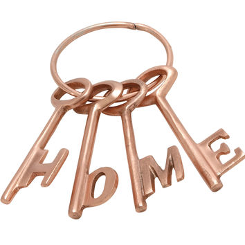 Matchless Aluminium Copper Home Key Set Of 4
