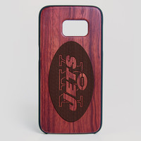 New York Giants Galaxy S7 Edge Case - All Wood Everything