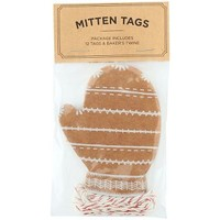 Mitten Gift Tags