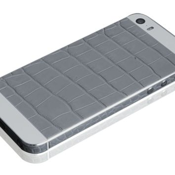 Hadoro iPhone 5S - Alligator Grey