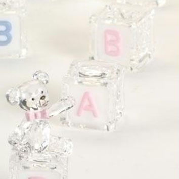 "4  "" Baby ""  Blocks Sets - Baby Girl"